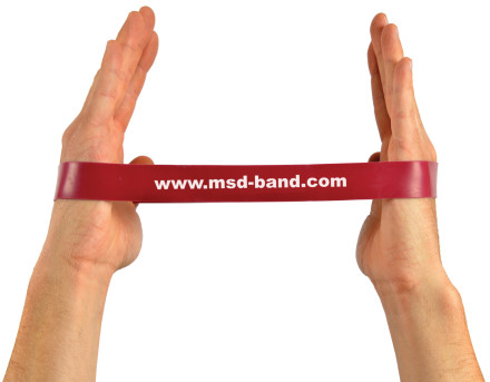120115100125_01-100003 - MSD-Band Loop - Medium - Red